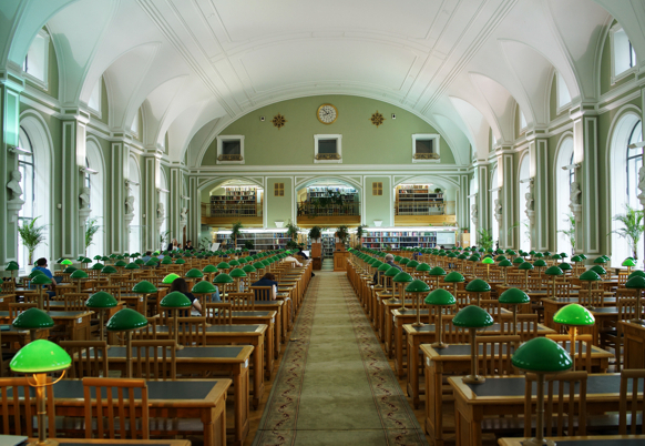 Cathedrals of Culture, Michael Glawogger, Russian National Library