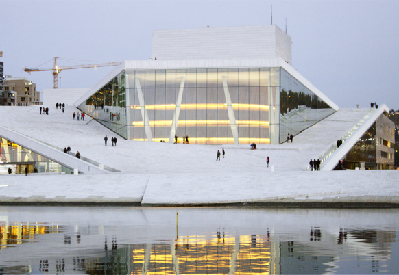 Cathedrals of Culture, Margreth Olin, Oslo Opera