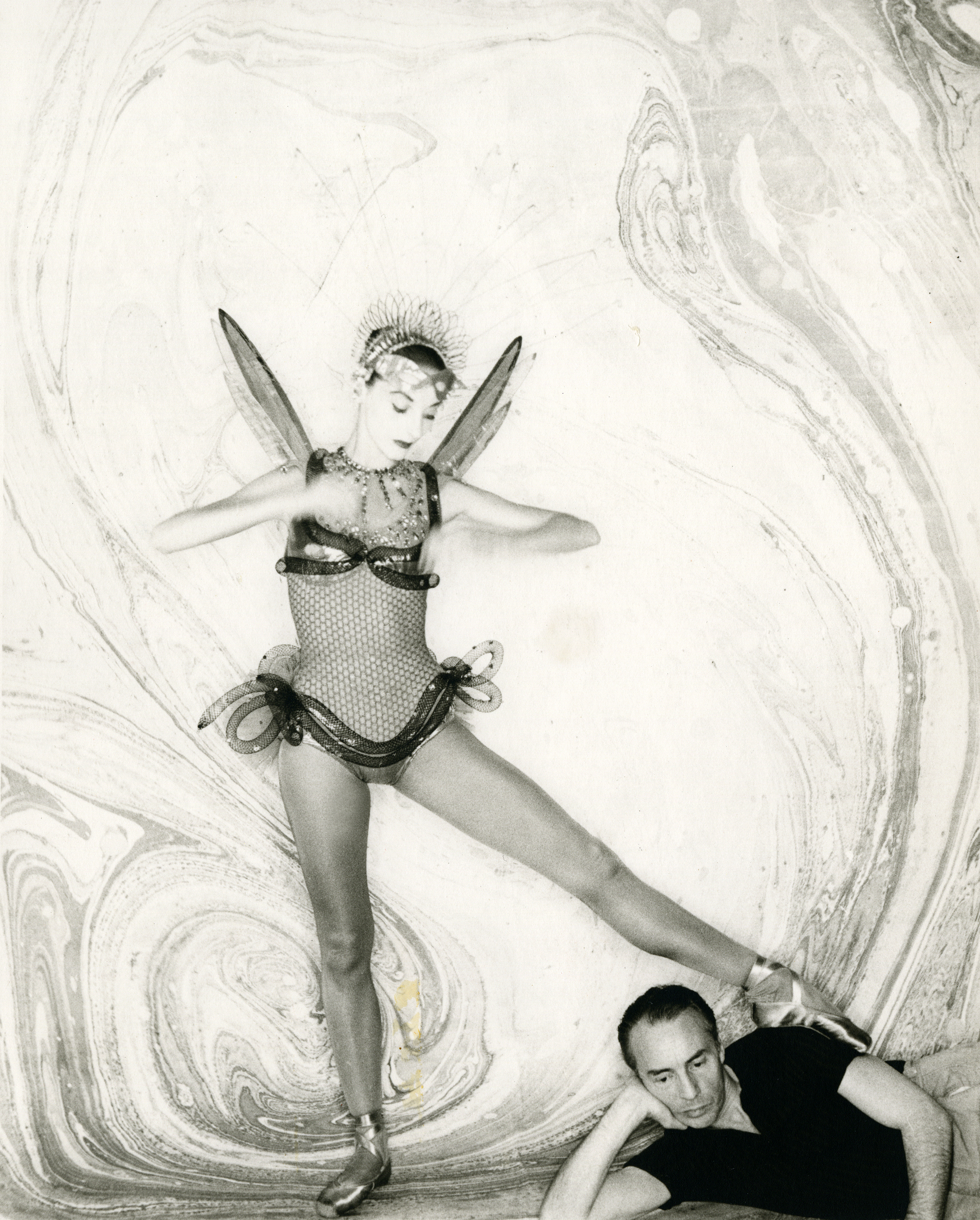 Tanaquil Le Clercq and George Balanchine
